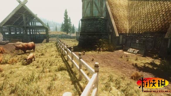 上古卷軸5(The Elder Scrolls V: Skyrim)極樂莊園MOD V4.11漢化版