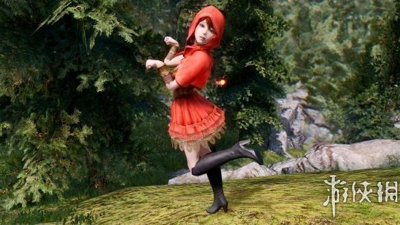 上古卷軸5(The Elder Scrolls V: Skyrim)童話洋裝小紅帽MOD