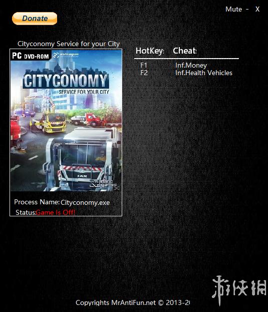 城市服务 v1.0.112两项修改器MrAntiFun版