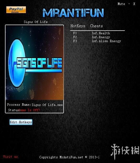 生命跡象(Signs of Life)v0.6.0.6三項修改器MrAntiFun版