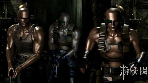 惡靈古堡0高清版(Biohazard 0 HD Remaster)激禿油俠比利MOD[TexMod]