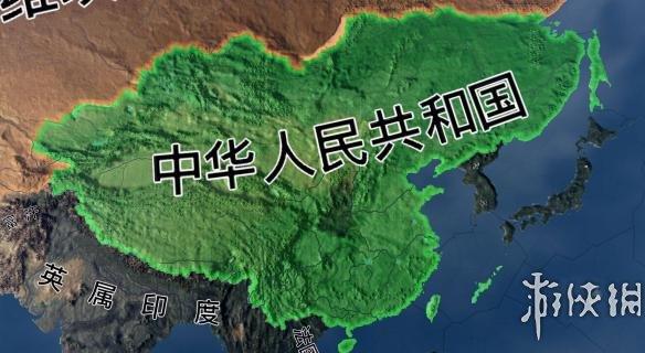 鋼鐵雄心4(Hearts of Iron IV)中國疆域核心增加完整版MOD