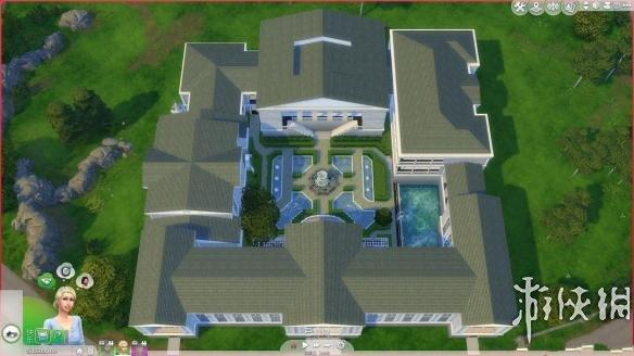 模拟人生4 仿欧洲古典宫殿建筑群MOD