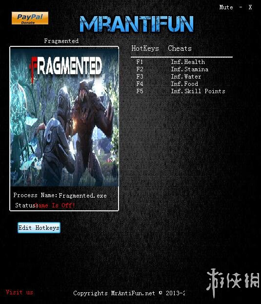 碎片(Defragmented)v16.6.4.0五項修改器MrAntiFun版