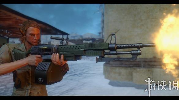 異塵餘生4(Fallout 4)WH-77模塊化輕型支援武器MOD