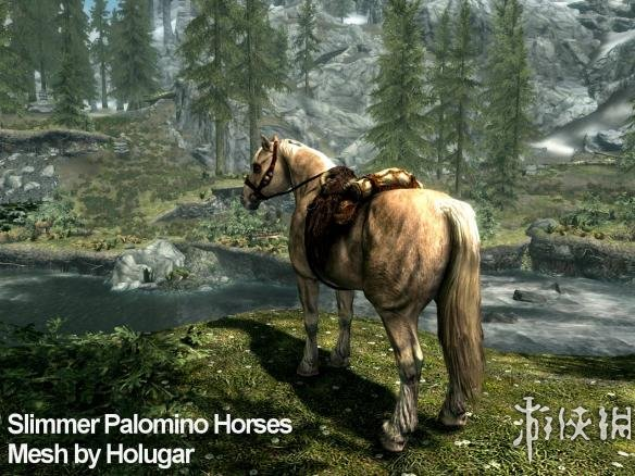 上古卷軸5:天際重制版(The Elder Scrolls V: Skyrim Special Edition)多樣化的馬MOD V1.2