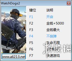 看門狗2(Watch Dogs 2)v1.05.134.981608十項修改器