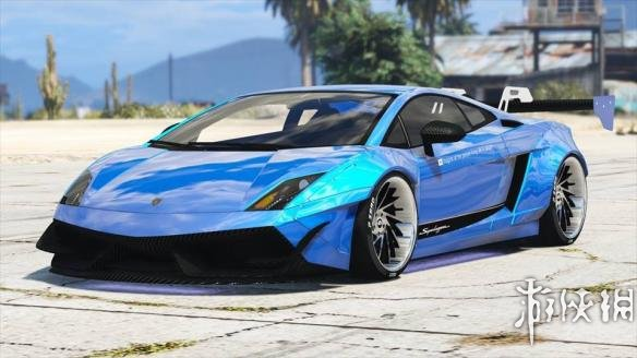俠盜獵車手5(Grand Theft Auto 5)蘭博基尼Gallardo Superleggera LibertyWalk MOD
