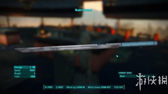 異塵餘生4(Fallout 4)死侍的劍MOD