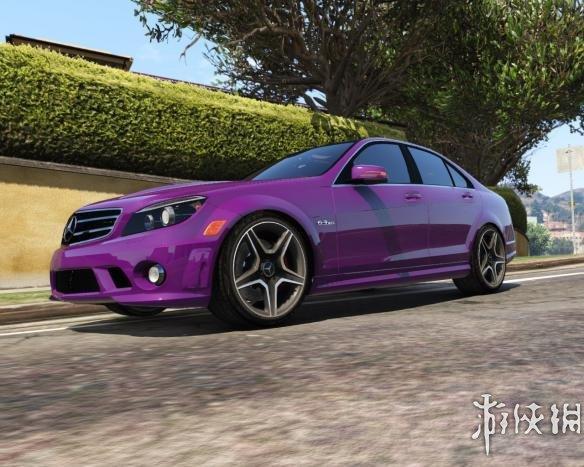 俠盜獵車手5(Grand Theft Auto 5)2014款賓士C級AMG W204 MOD