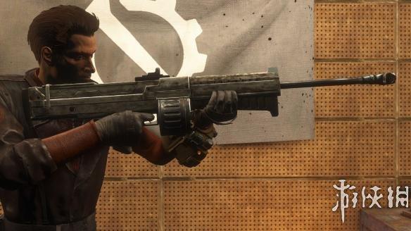 異塵餘生4(Fallout 4)新維加斯的自動狙擊步槍Bozar MOD