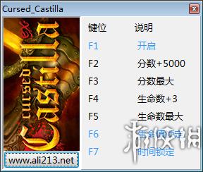 被詛咒的卡斯蒂利亞(Cursed Castilla)v1六項修改器