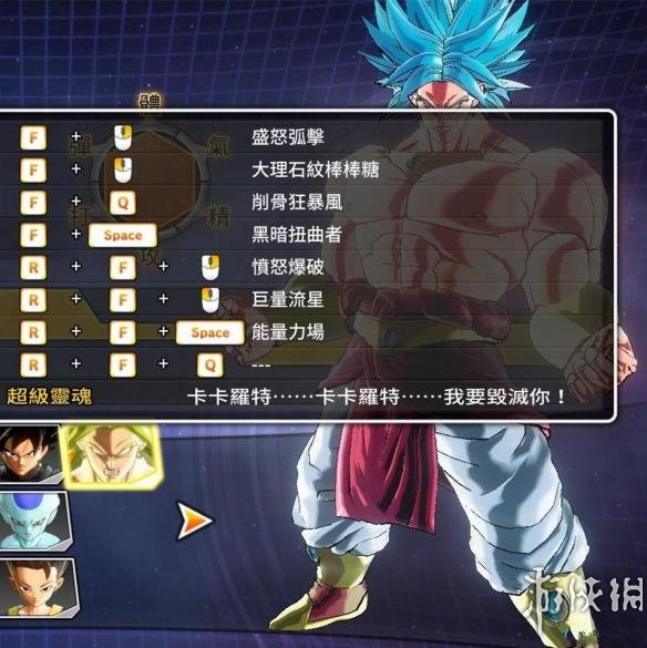 龍珠:超宇宙2(Dragon Ball Xenoverse 2)SSGSS布羅利暴力MOD