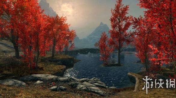 上古卷轴5:天际重制版 天际红色的枫树MOD