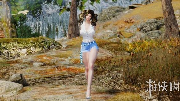 上古卷軸5(The Elder Scrolls V: Skyrim)比基尼與熱褲MOD