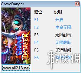 地穴危機(Grave Danger)v1.0.1五項修改器