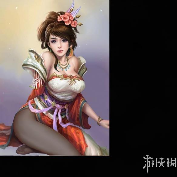 三國志13(Romance Of Three Kingdom 13)兩張黑絲頭像MOD V0321(感謝會員zero1113提供分享)