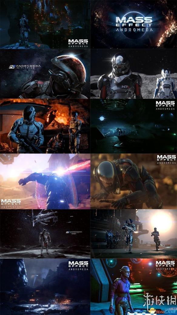 質量效應:仙女座(Mass Effect Andromeda)桌面桌布1080P