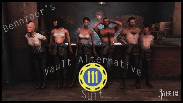 異塵餘生4(Fallout 4)避難所服裝夏季版MOD