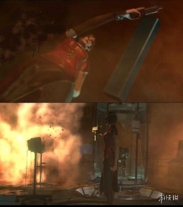 惡靈古堡6(Resident Evil 6)艾達王中國風旗袍黑絲裝MOD
