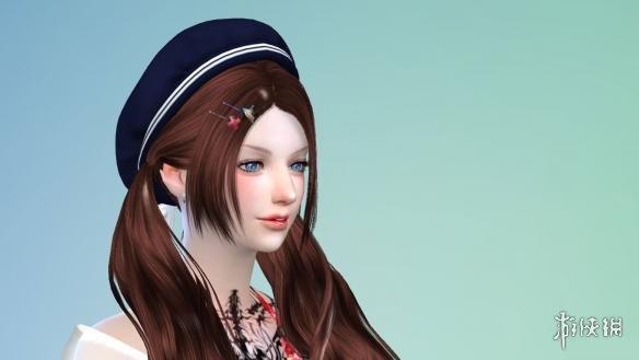 小脸蛋超精致的超可爱的美女格温姐姐,不管是披肩还是马尾都好好看,可