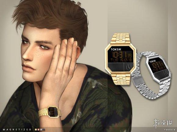 模擬市民4(The Sims 4)金銀雙色豪華手錶MOD