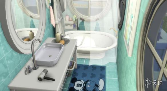 模擬市民4(The Sims 4)v1.31漁友夏風海景閣樓MOD