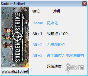 突襲4(Sudden Strike 4)v1.00.19037四項修改器