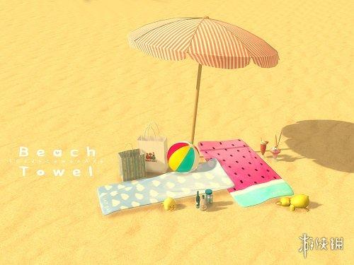 模拟人生4a公婆夏季公婆性感西瓜性感MOD下穿的去套装沙滩接儿媳妇图片