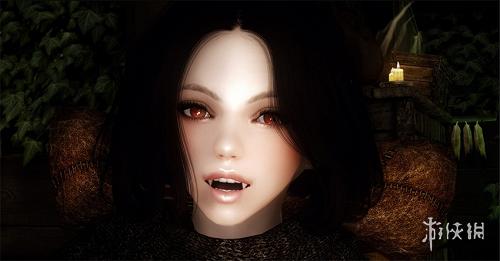 上古卷軸5(The Elder Scrolls V: Skyrim)吸血鬼隨從萌妹子米娜哈克美化MOD