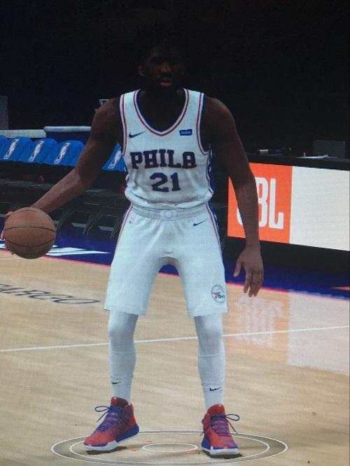 NBA 2K18 恩比德大帝身形MOD(感謝玩家阿迪王哇塞原創製作) 補丁下載