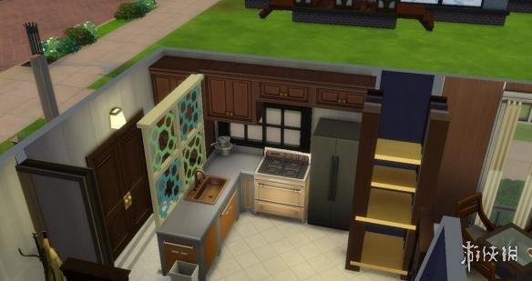 模擬市民4(The Sims 4)v1.31獨立地產美式平層小院子MOD