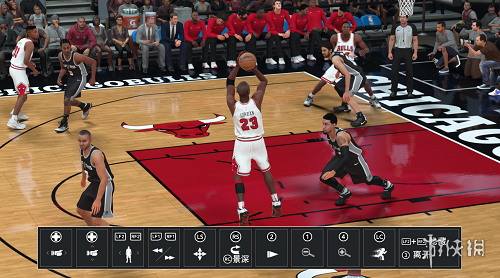 NBA 2K18(NBA 2K18)傳奇巨星喬登身形MOD