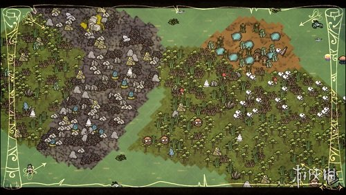 飢荒(Don't Starve)擴展地圖圖標MOD V20170930