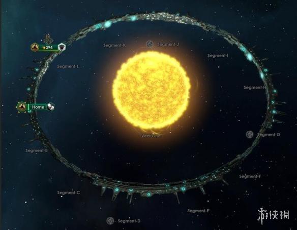 群星(Stellaris)v1.8十二格環世界開局MOD