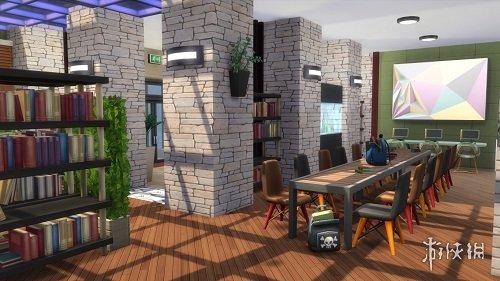 模擬市民4(The Sims 4)三米舒諾藝術展覽館MOD