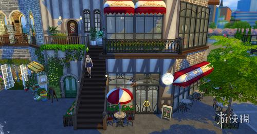 模擬市民4(The Sims 4)歐洲風格特色小鎮MOD
