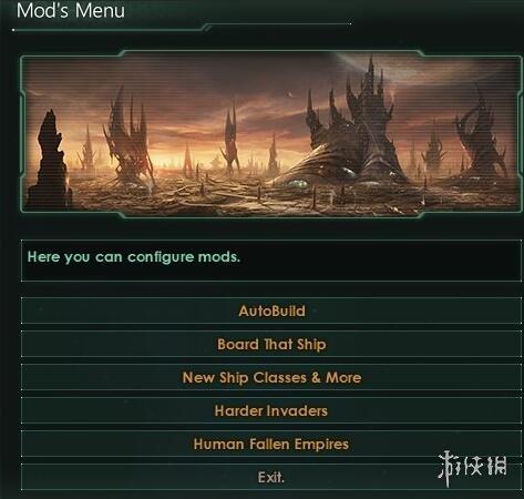 群星(Stellaris)v1.8MOD功能表優化兼容MOD