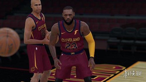 NBA 2K18(NBA 2K18)騎士隊超巨詹姆士面補MOD V3
