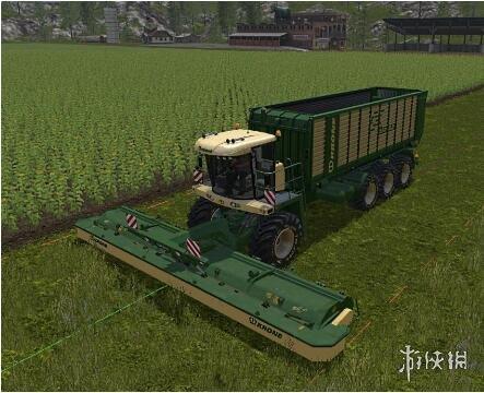 類比農場17(Farming Simulator 17)大型全自動割草收割機MOD