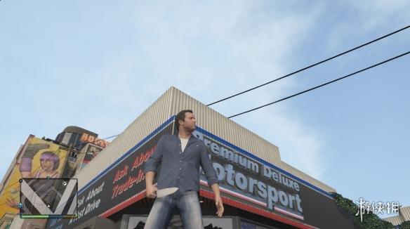 俠盜獵車手5(Grand Theft Auto 5)切肉刀MOD(感謝會員kuangjian提供分享)