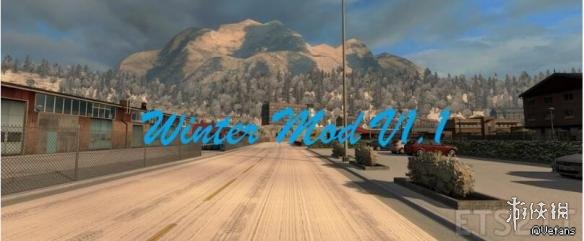 歐洲卡車類比2(Euro Truck Simulator 2)v1.28增加冬季季節v1.1.1MOD
