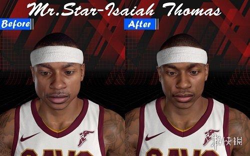 NBA 2K18(NBA 2K18)小湯瑪斯高清照片面補MOD