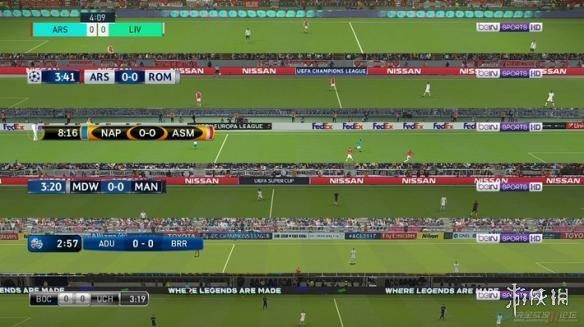 世界足球競賽2018(Pro Evolution Soccer 2018)默認記分牌TVLOGO美化補丁