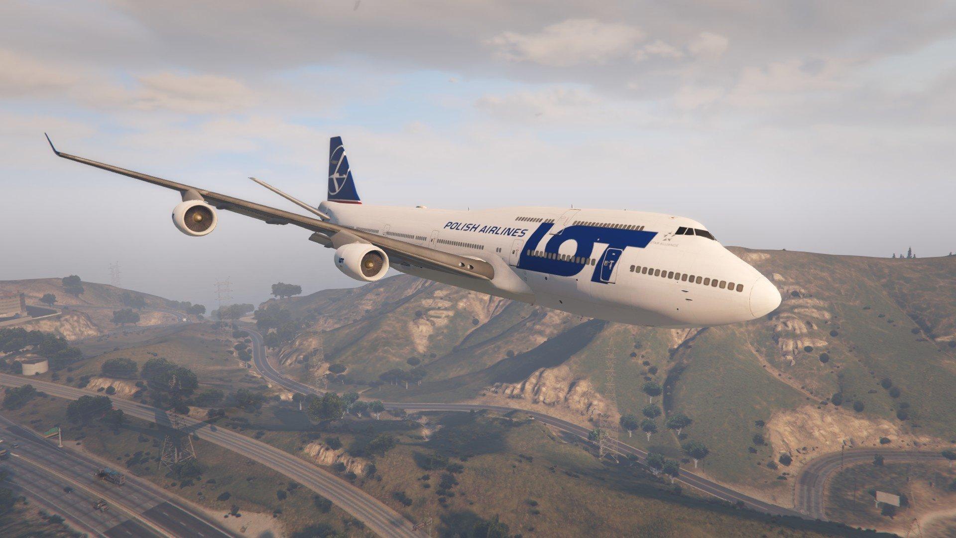 侠盗猎车手5 波音747-400M