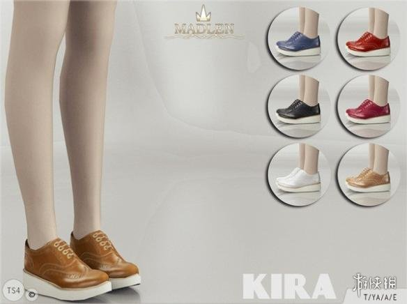 模擬市民4(The Sims 4)v1.31女士厚底增高馬丁靴MOD