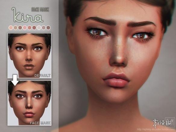 模擬市民4(The Sims 4)v1.31氣色更好的面部底妝MOD