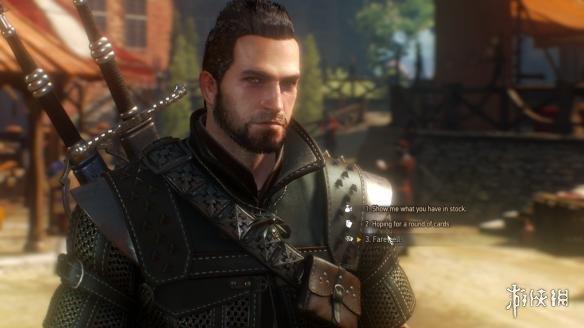 巫師3:狂獵(The Witcher 3: Wild Hunt)狼叔祛疤黑發MOD
