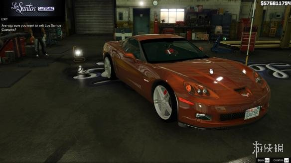 俠盜獵車手5(Grand Theft Auto 5)2006款雪佛蘭克爾維特C6 Z06跑車MOD(感謝會員~夏娜~提供分享)