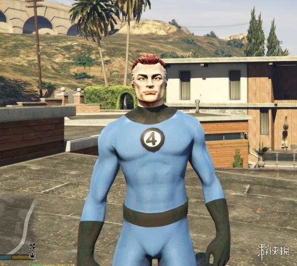 俠盜獵車手5(Grand Theft Auto 5)神奇四俠MOD(感謝會員kuangjian提供分享)